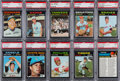 Baseball Cards:Lots, 1971 Topps Baseball PSA Mint 9 Collection (27)....