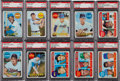 Baseball Cards:Lots, 1969 Topps Baseball PSA Graded Collection (30) With Mint Banks & Fingers. ...