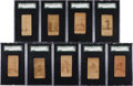 Baseball Cards:Lots, 1887-90 N172 Old Judge Chicago Collection (9). ...
