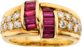 Estate Jewelry:Rings, Ruby, Diamond, Gold Ring, Van Cleef & Arpels. ...