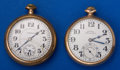Timepieces:Pocket (post 1900), Two Hampden's 21 Jewel Pocket Watches Runners. ... (Total: 2 Items)