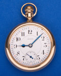 Timepieces:Pocket (post 1900), Howard 21 Jewel Series 10 Pocket Watch. ...