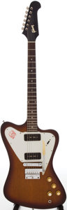 Musical Instruments:Electric Guitars, 1965 Gibson Firebird I Sunburst Solid Body Electric Guitar, Serial# 503925....