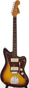 Musical Instruments:Electric Guitars, 1966 Fender Jazzmaster Sunburst Solid Body Electric Guitar, Serial# 145618.. ...