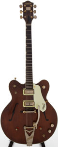 Musical Instruments:Electric Guitars, 1964 Gretsch Country Gentleman Walnut Semi-Hollow Body Electric Guitar, Serial # 6 9657....