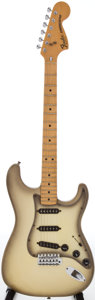Musical Instruments:Electric Guitars, 1981 Fender Stratocaster Antigua Solid Body Electric Guitar, Serial# S903340....