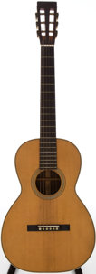 Musical Instruments:Acoustic Guitars, 1870s Martin 0-28 Natural Acoustic Electric Guitar....