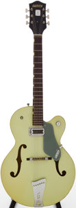 Musical Instruments:Electric Guitars, 1968 Gretsch Anniversary Green Semi-Hollow Body Electric Guitar,Serial # 68423....