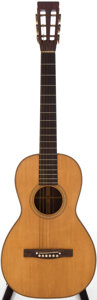 Musical Instruments:Acoustic Guitars, 1860-70 Martin 2 1/2-21 Natural Acoustic Guitar....