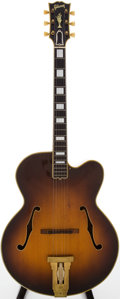 Musical Instruments:Acoustic Guitars, 1951 Gibson L-5C Sunburst Archtop Acoustic Guitar, Serial # A7601....