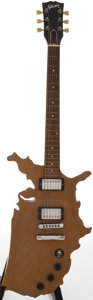 Musical Instruments:Electric Guitars, 1984 Gibson Map USA Natural Solid Body Electric Guitar, Serial #83114563....