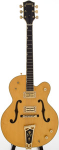 Musical Instruments:Electric Guitars, 1972 Gretsch Country Club Natural Archtop Electric Guitar, Serial # 22125....