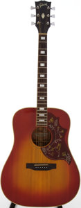 Musical Instruments:Acoustic Guitars, 1970 Gibson Hummingbird Sunburst Acoustic Guitar, Serial #A903703....
