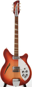 Musical Instruments:Electric Guitars, 1965 Rickenbacker 360 Fireglo Semi-Hollow Body Electric Guitar,Serial # EG171....