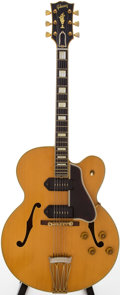 Musical Instruments:Electric Guitars, 1957 Gibson Byrdland Natural Semi-Hollow Body Electric Guitar,Serial # A25573....