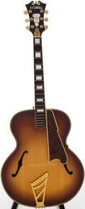 Musical Instruments:Acoustic Guitars, 1940s D'Angelico Excel Sunburst Archtop Acoustic Guitar, Serial # 1685....