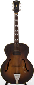 Musical Instruments:Acoustic Guitars, 1940s Gibson ES-300 Sunburst Acoustic Electric Guitar....