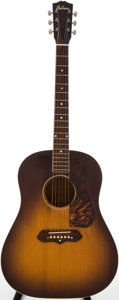 Musical Instruments:Acoustic Guitars, 1941 Gibson J-55 Sunburst Acoustic Guitar, Serial # 5285G....