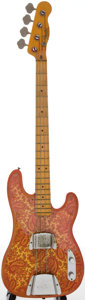 Musical Instruments:Electric Guitars, 1968 Fender Telecaster Bass Paisley Electric Bass Guitar, Serial # 223047....