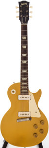 Musical Instruments:Electric Guitars, 1955 Gibson Les Paul Gold Solid Body Electric Guitar, Serial #56525....