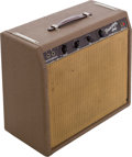 Musical Instruments:Amplifiers, PA, & Effects, 1963 Fender Princeton Brown Guitar Amplifier, Serial # P01695....