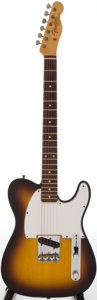 Musical Instruments:Electric Guitars, 2005 Fender Custom Esquire Sunburst Solid Body Electric Guitar,Serial # CZ52346....