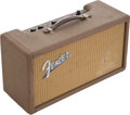 Musical Instruments:Amplifiers, PA, & Effects, 1961 Fender Brown Reverb Unit, Serial # R00178....