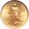 Saint-Gaudens Double Eagles, 1915 $20 MS65 NGC....