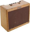 Musical Instruments:Amplifiers, PA, & Effects, 1958 Fender Vibrolux Tweed Guitar Amplifier, Serial # F01009....