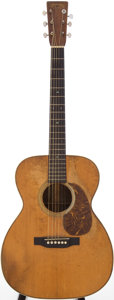 Musical Instruments:Acoustic Guitars, 1938 Martin 000-28 Natural Acoustic Guitar, Serial # 71270....