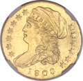 Early Quarter Eagles, 1808 $2 1/2 MS63 NGC. BD-1, R.4....