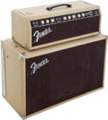 Musical Instruments:Amplifiers, PA, & Effects, 1961 Fender Tremolux Blonde Guitar Amplifier, Serial # 00314....