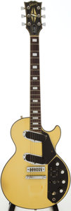 Musical Instruments:Electric Guitars, 1972 Gibson Les Paul Recording White Solid Body Electric Guitar,Serial # 00111326. ...
