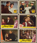 """Movie Posters:War, World War II Lot (Various, 1941-42). Lobby Cards (6) (11"""" X 14"""").War.. ... (Total: 6 Items)"""
