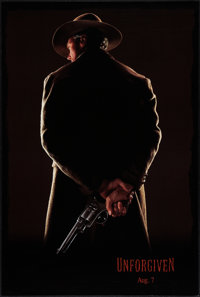 "Unforgiven (Warner Brothers, 1992). One Sheet (27"" X 40"") Advance. Western"