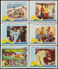 "Movie Posters:Adventure, Boy on a Dolphin (20th Century Fox, 1957). Title Lobby Card andLobby Cards (5) (11"" X 14""). Adventure.. ... (Total: 6 Items)"