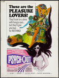 "Movie Posters:Exploitation, Psych-Out (American International, 1968). Poster (30"" X 40"").Exploitation.. ..."