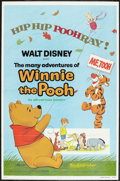 "Movie Posters:Animated, The Many Adventures of Winnie the Pooh (Buena Vista, R-1977). OneSheet (27"" X 41""). Animated.. ..."