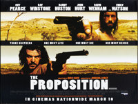 """The Proposition and Other Lot (Tartan, 2005). British Quad (30"""" X 40"""") DS Advance and One Sheet (27"""" X 40..."""