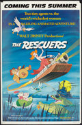 """Movie Posters:Animation, The Rescuers (Buena Vista, 1977). One Sheet (27"""" X 41"""") Advance. Animation.. ..."""
