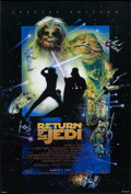"Movie Posters:Science Fiction, Return of the Jedi (20th Century Fox, R-1997). One Sheet (27"" X40"") DS Advance, Special Edition Style. Science Fiction.. ..."