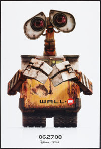 """WALL·E and Other Lot (Walt Disney Pictures, 2008). One Sheets (2) (27"""" X 40"""") DS and SS Advance Styles..."""