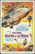 "Movie Posters:Science Fiction, Master of the World (American International, 1961). One Sheet (27""X 41""). Science Fiction.. ..."