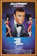 """Movie Posters:James Bond, Never Say Never Again (Warner Brothers, 1983). One Sheet (27"""" X41""""). James Bond.. ..."""