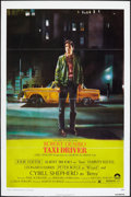 "Movie Posters:Crime, Taxi Driver (Columbia, 1976). One Sheet (27"" X 41""). Flat Folded.Crime.. ..."