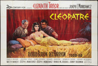 "Cleopatra (20th Century Fox, 1963). French Double Grande (63"" X 93""). Historical Drama"