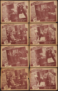 """City of Missing Girls (Select Attractions, 1941). Lobby Cards (28) (11"""" X 14""""). Cult Classic. ... (Total: 28 I..."""