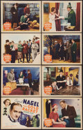 """Movie Posters:Thriller, The Gold Racket (Grand National, 1937). Lobby Card Set of 8 (11"""" X 14""""). Thriller.. ... (Total: 8 Items)"""