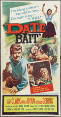 """Movie Posters:Bad Girl, Date Bait (Film Group, 1960). Three Sheet (41"""" X 81""""). Bad Girl....."""