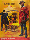 """Movie Posters:Western, For a Few Dollars More (United Artists, R-1978). French Grande (46"""" X 62""""). Western.. ..."""